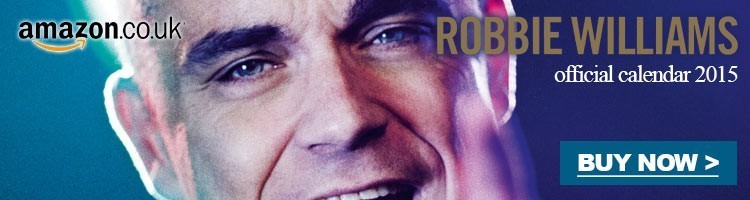 Robbie Williams calendar 2015 amazon.co.uk