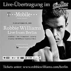 Robbie Williams Berlin