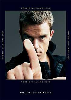 Robbie Williams Kalendarz 2006