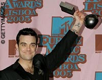 Robbie Williams MTV EMA 2005