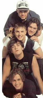 From top: Jason, Howard, Gary, Robbie and Mark